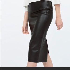 ZARA Gorgeous faux leather